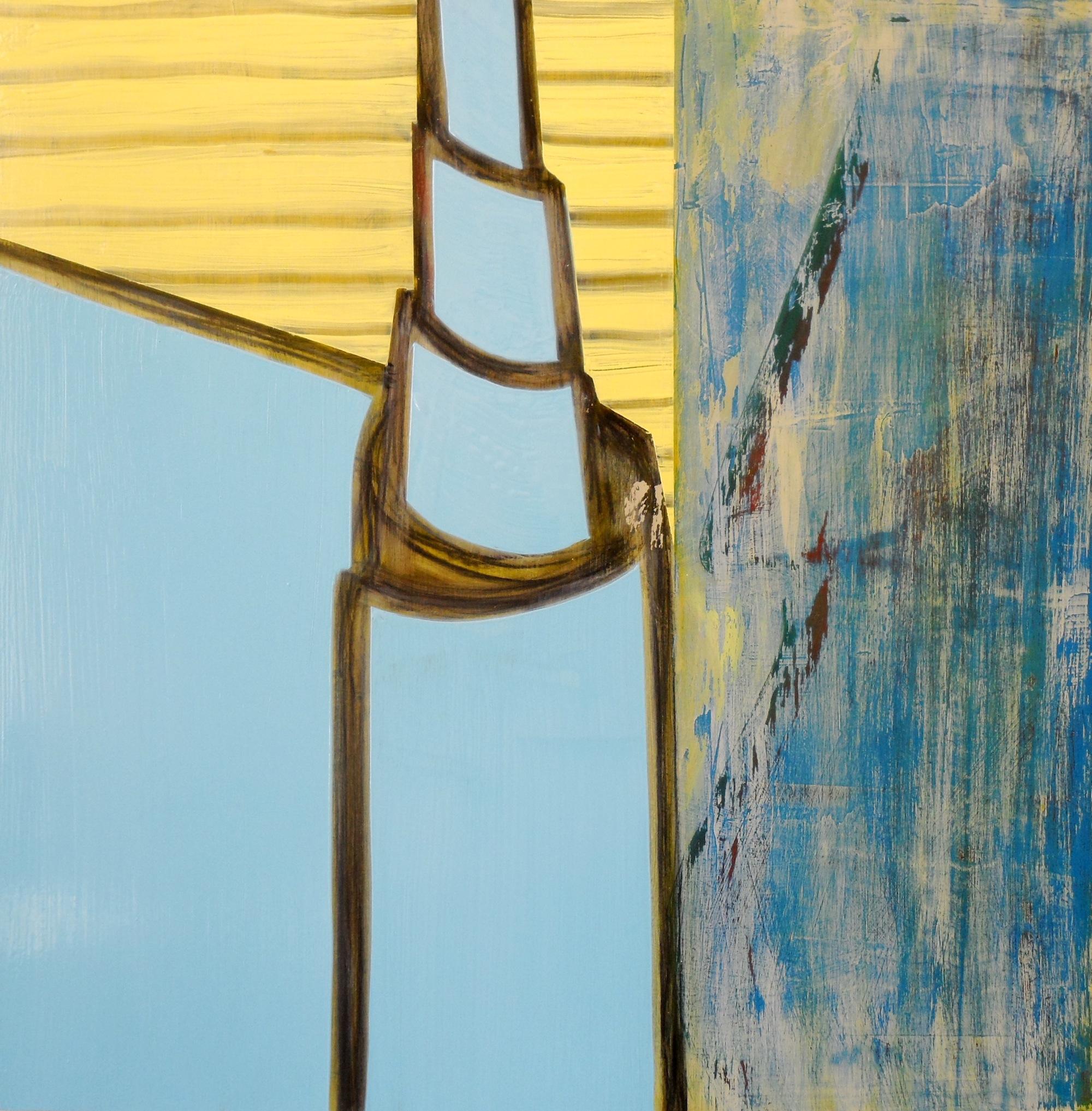 Objet d'Art 3, Acrylic and oil on board