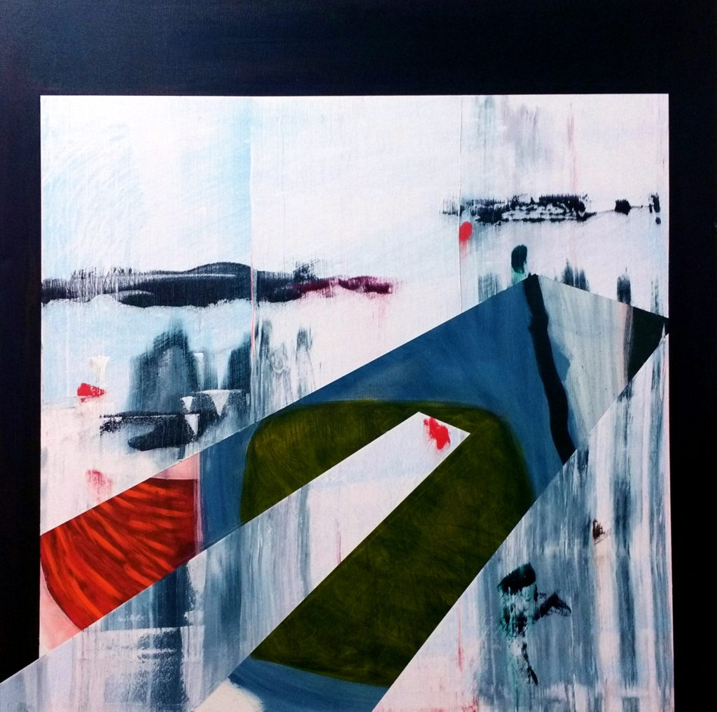 Slippage 4, Oil and acrylic on canvas