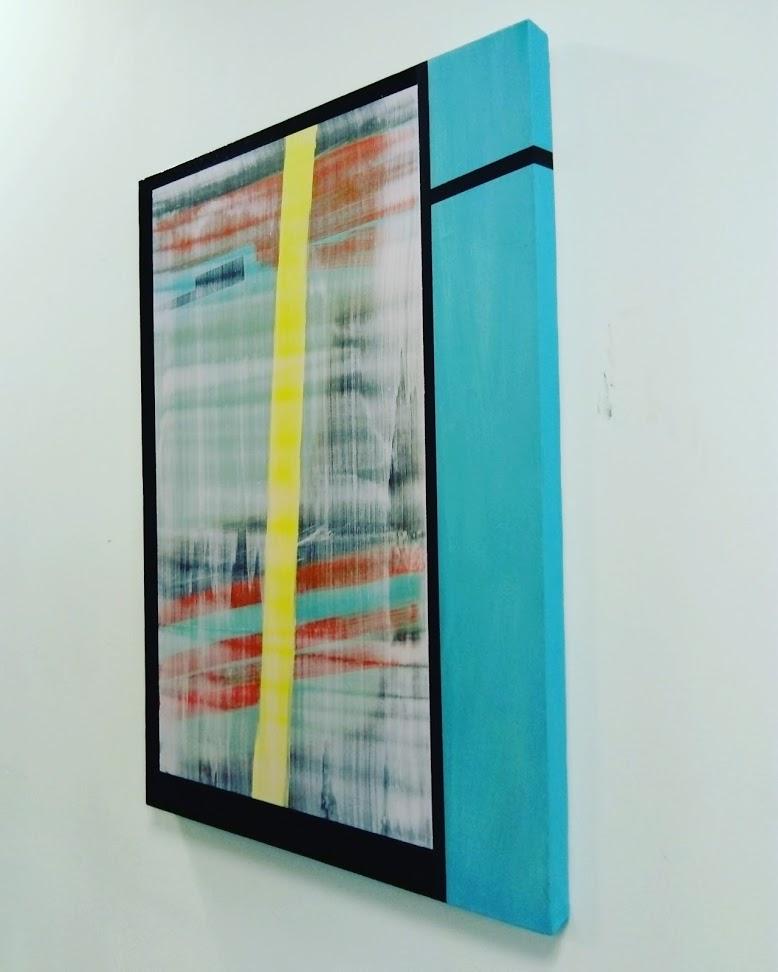 Slider 1, Oil on canvas