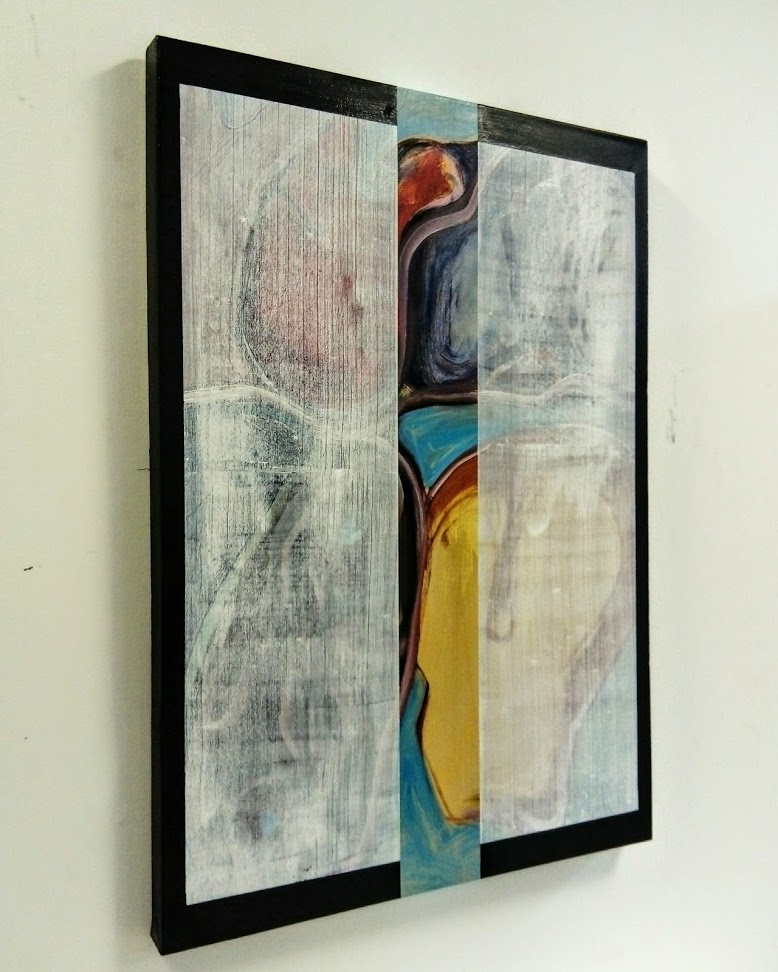 Slider 2, Oil on canvas