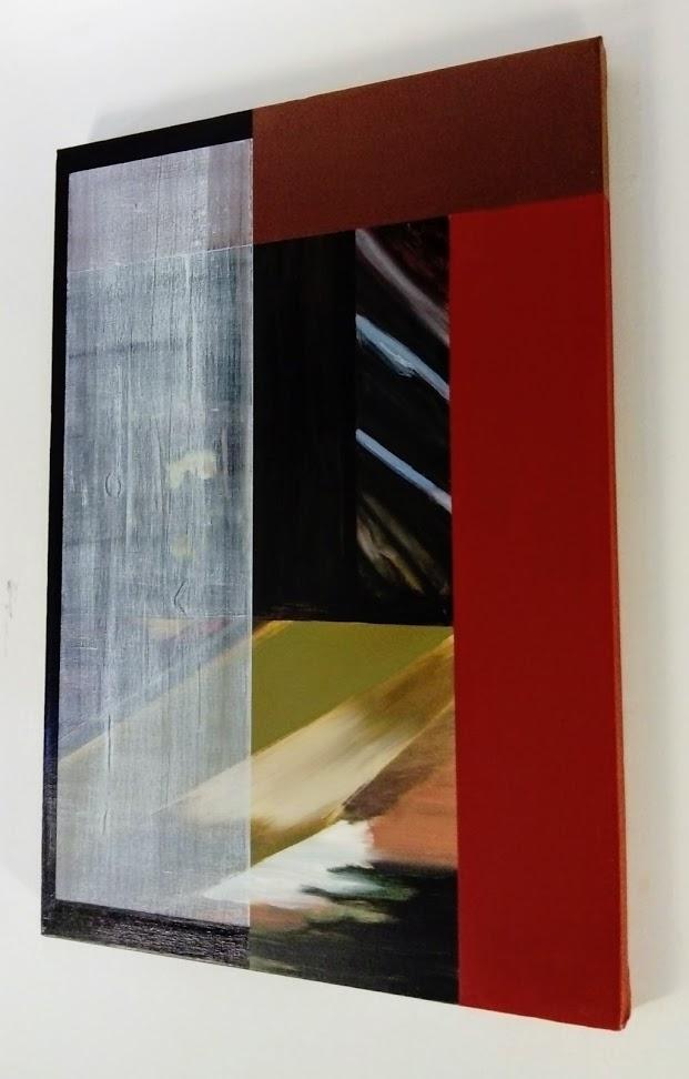 Slider 4, Oil on canvas