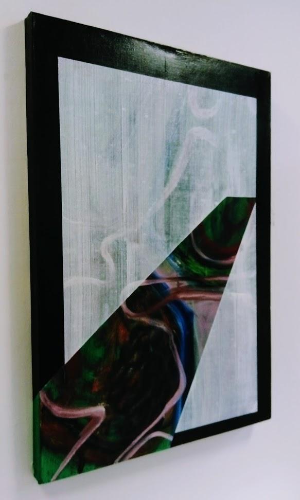 Slider 5, Oil on canvas