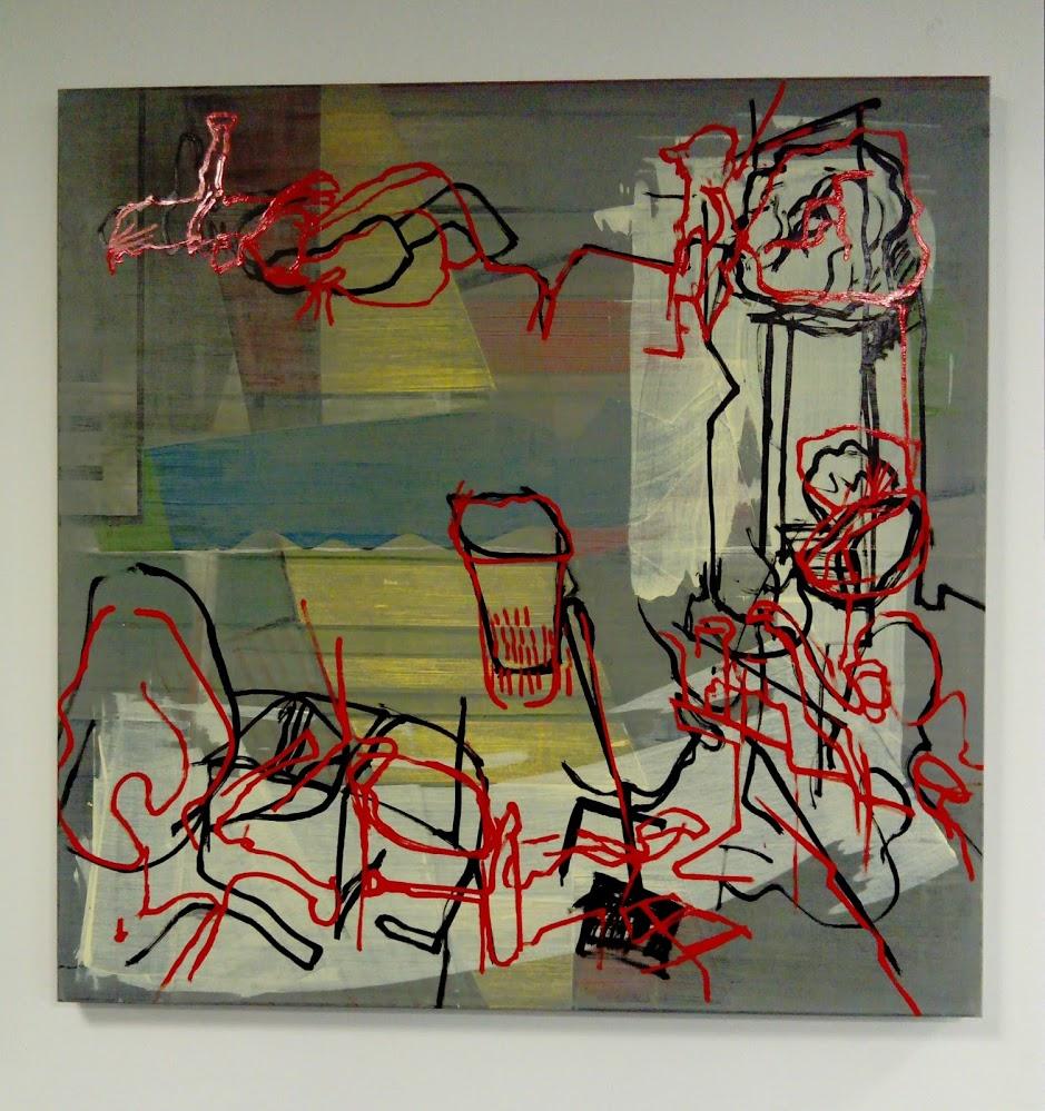 Describer 3, Oil and acrylic on canvas