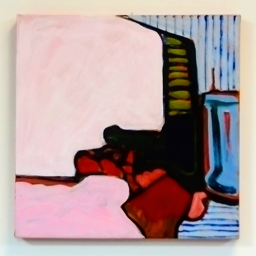Spacer 2, Acrylic on canvas