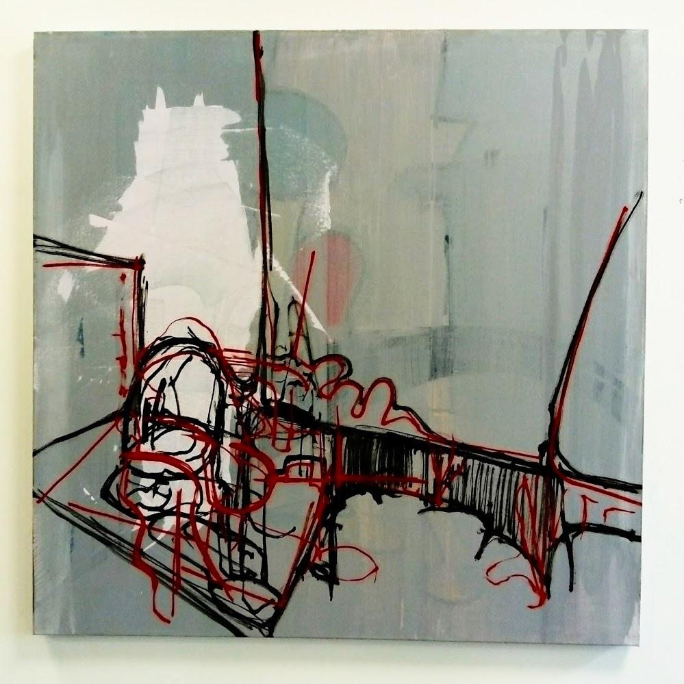 Describer 1, Oil and acrylic on canvas