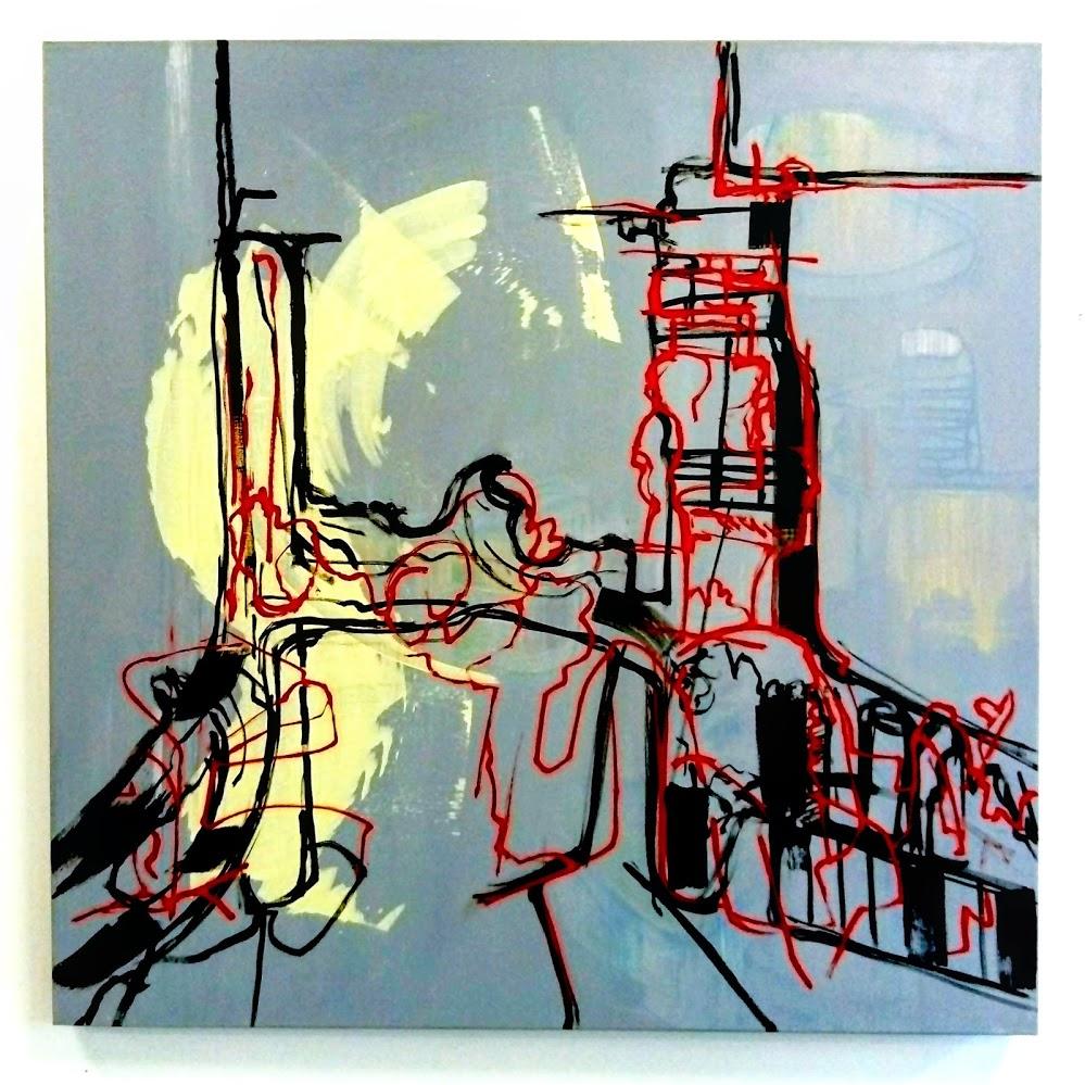 Describer 2, Oil and acrylic on canvas