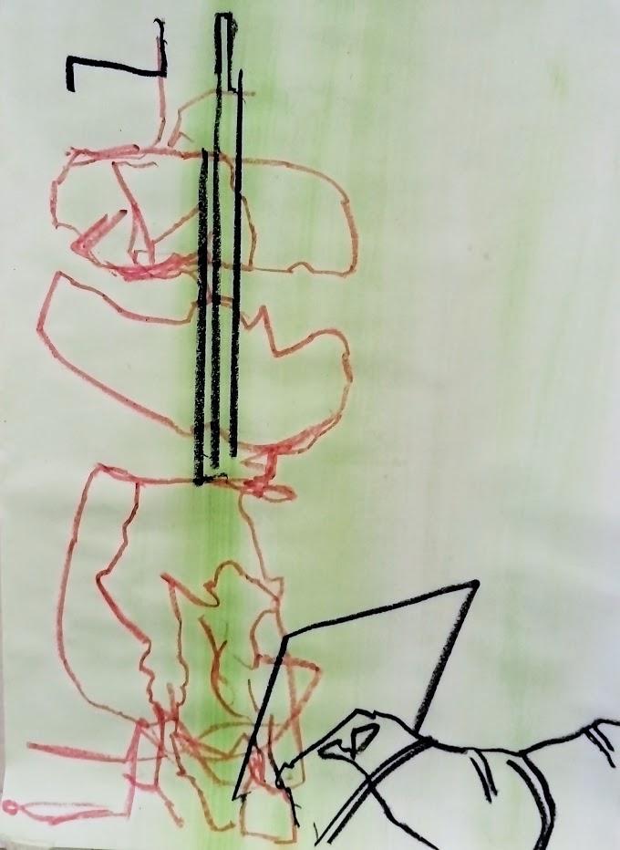 Sketch #14, 29 x 21 cm